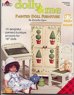 Dolly & Me by Dorothy Egan... Doll Furniture