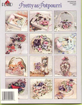 Pretty as Potpourri ~Painting Booklet