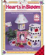 Kathy Davis ~Hearts in Bloom Paint Book - $7.00