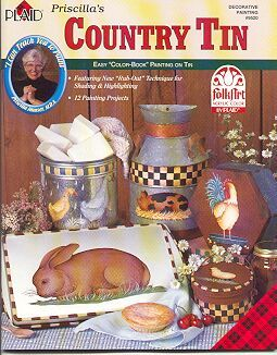 Paint on Tin ~COUNTRY TIN~Painting Book