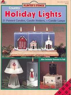 Folk Art Country HOLIDAY LIGHTS