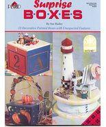 SURPRISE BOXES ~Sue Bailey Painting Booklet - $7.00