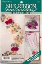 Silk Ribbon Embroidery.....Gardener's Borders - $3.50