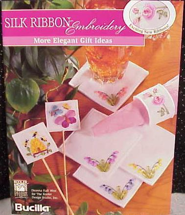 Silk Ribbon Embroidery~More Elegant Gifts
