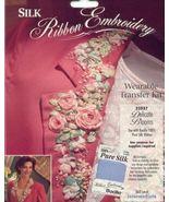 Delicate Blooms~Silk Ribbon for Blazer - $4.00
