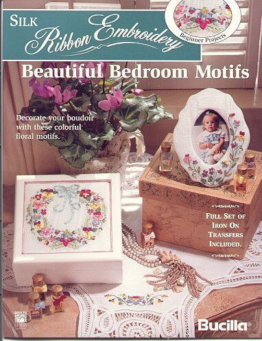 Silk Ribbon Embroidery~Beautiful Bedroom~
