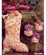 Victorian Holiday Treasures ~Silk Ribbon Book - $5.90