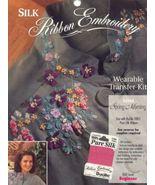 Silk Ribbon Embroidery~Spring Morning~ - $4.00