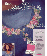 Beginner's Silk Ribbon Embroidery~SPRING POSY - $4.00