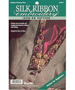 Victorian Vest....Ribbon Embroidery Transfer - $3.50