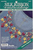 Silk Ribbon Embroidery~Denim Delight - $4.00