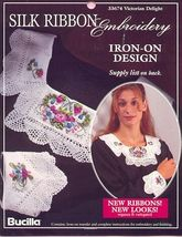 Victorian Delight~Silk Ribbon Embroidery Transfer - $3.50