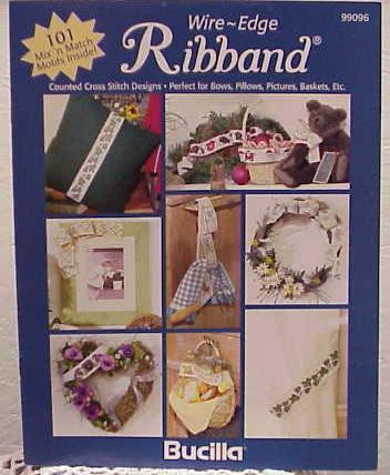 Wire~Edge Ribband Cross Stitch Booklet