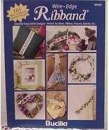 Wire~Edge Ribband Cross Stitch Booklet - $4.00