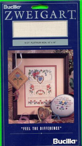 18ct Platinum Aida for Cross Stitch