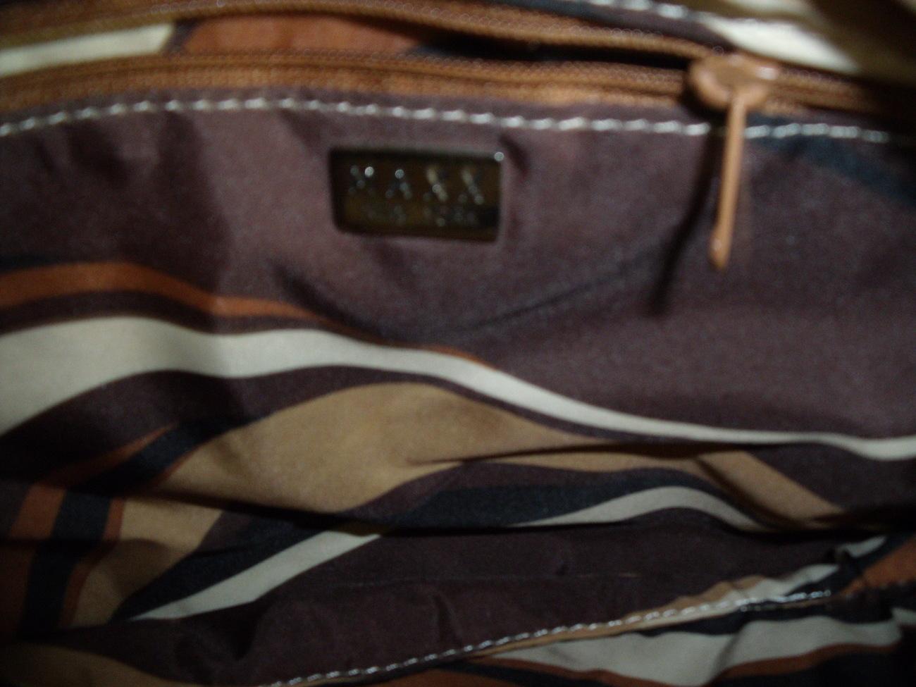 Maxx of New York microfiber shoulder or cross body bag