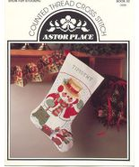 Snowman Stocking ~Counted Cross Stitch - $4.00