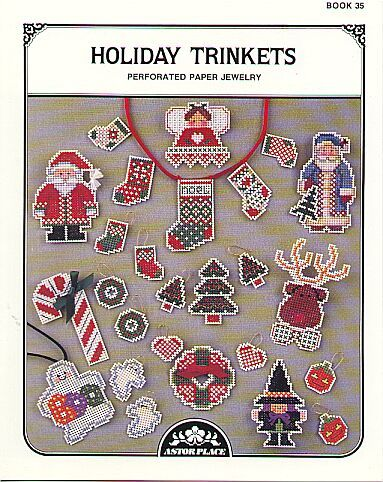 Holiday Trinkets Perforated Paper Jewelry CS
