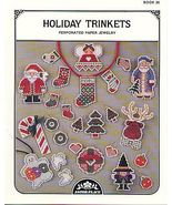 Holiday Trinkets Perforated Paper Jewelry CS - $4.00