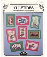 YULETIDES P/P Christmas Cards Cross Stitch - $4.00