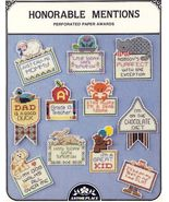 HONORABLE MENTION AWARDS~CrossStitch - $4.00