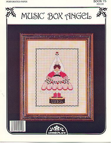 Music Box Angel..... P/P Cross Stitch Pattern