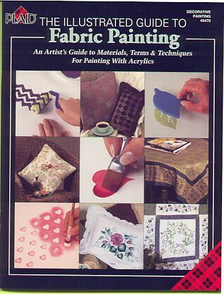 Fabric Painting~Illustrated Guide + Patterns