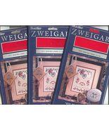 Zweigart 25ct Xmas Red Lugana~3 Pks - $10.00