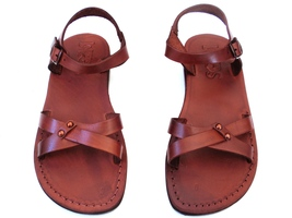 Leather Sandals for Women ARIELA by SANDALIM Biblical Greek Roman Sandals - $39.83 CAD+