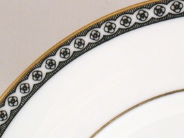Wedgwood Black Ulander 6-in Bread Plate China - $6.00