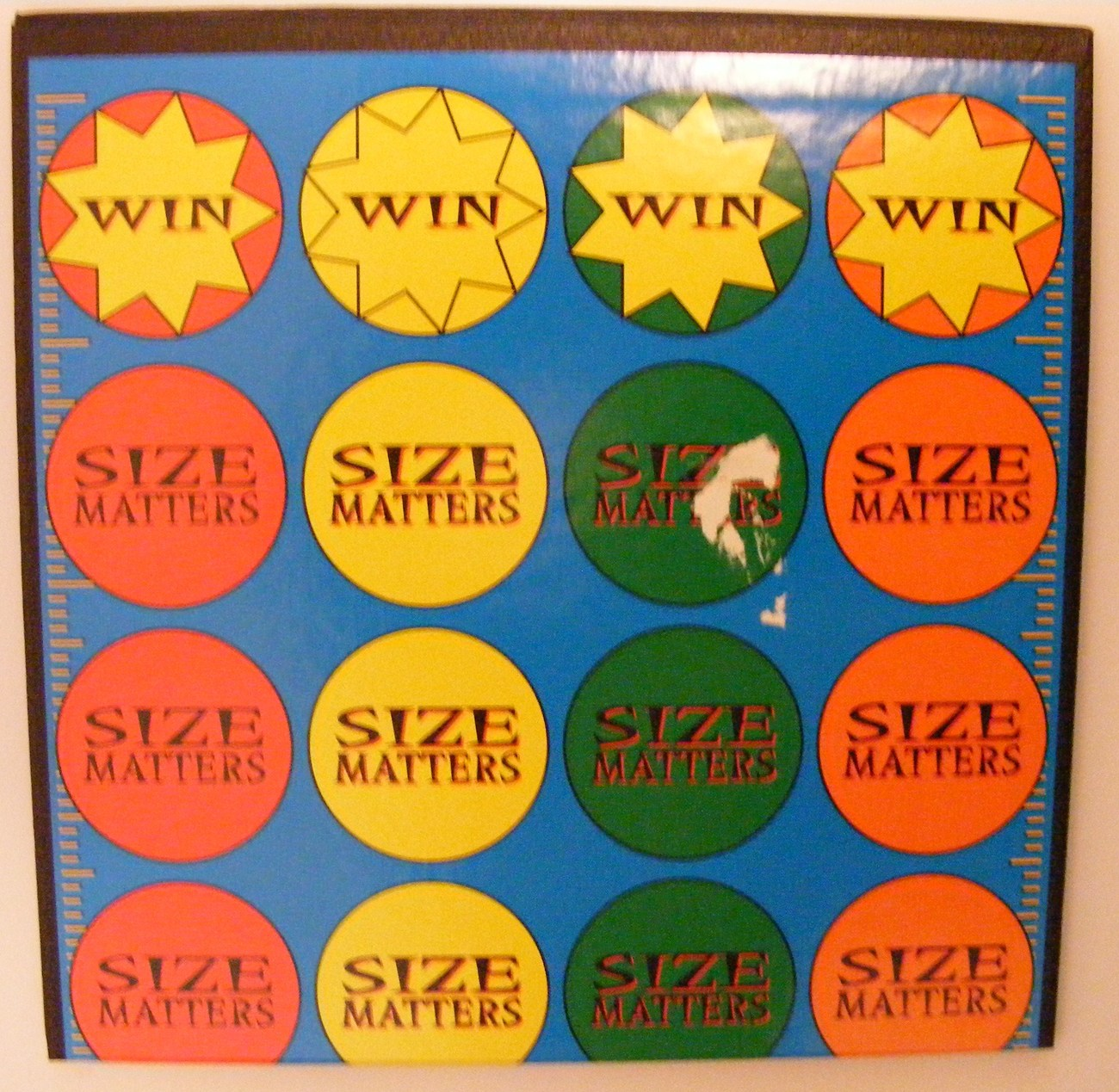 SIZE MATTERS Fun Family Trivia Board Game