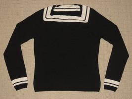 Womens Marks & Spencer Long Sleeve Shirt Knit Top Blouse Sz: 10 UK Black... - $28.04