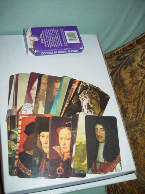 Fax-Pax Kings & Queens Of England 40-Card Set
