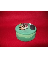 Polyresin Golf Decor trinket box - $5.00