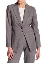 $2.229 giorgio armani women blazer: size 42: gray - $373.74