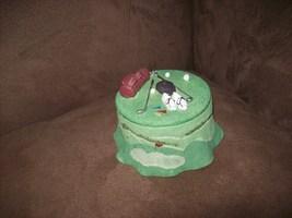 Polyresin Golf Decor trinket box - $6.00