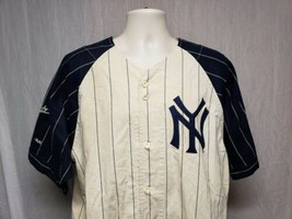 Mirage Cooperstown Collection NY Yankees Phil Rizzuto 10 Adult Large Cream Shirt - $79.20