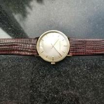 GIRARD-PERREGAUX Gold-Capped Men's Manual Hand-Wind Dress Watch c.1960s MS212 image 4