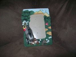 Polyresin Golf Decor Picture Frame 3 x 5 - $5.00