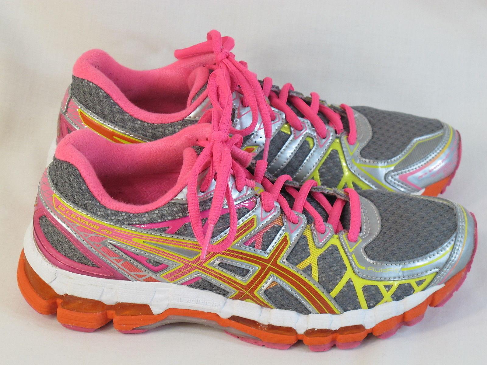 Details about Asics Gel Kayano 20 Womens Shoes Running Walking Training Comfort Black Size 8.5