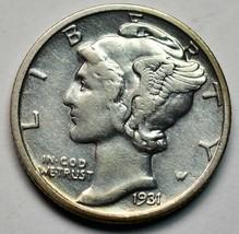 1931S Silver Mercury Dime 10¢ Coin Lot# A668