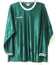 Diadora Italy Jersey Mens XL Green Long Sleeve Shirt - $22.28