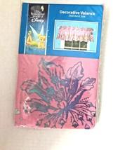 Disney Tinkerbell Window Valance Pink 84 x 15 NOS - $10.39