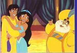 Disney Aladdin  Princess Jasmine Lithograph To Be Wed - $28.72