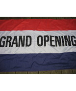 Grand Opening Store Business Polyester Flag - $4.99