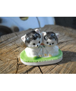 Vintage Kittens Porcelain Figurine Statue collectible - $15.99