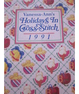 Holidays in Cross Stitch  1991 by Vanessa Ann Collections - $12.99