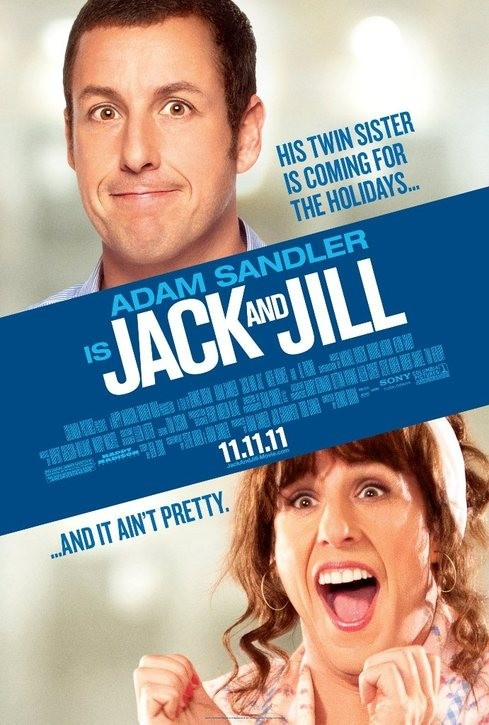 Jack and Jill Double Sided Original Movie Poster 27x40