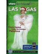 Frank Marino on Where Quick Guide Vegas Magazine - $1.95