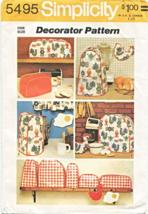 Simplicity 5495 Kitchen Appliance Covers Potholders Pattern - $8.95